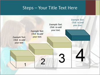 Group elementary school PowerPoint Templates - Slide 64