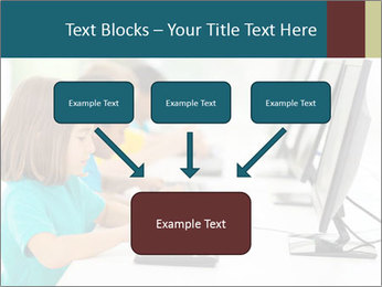 Group elementary school PowerPoint Templates - Slide 70