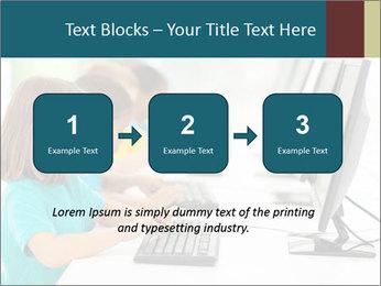 Group elementary school PowerPoint Templates - Slide 71