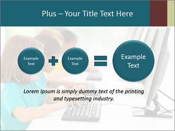 Group elementary school PowerPoint Templates - Slide 75
