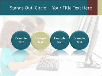 Group elementary school PowerPoint Templates - Slide 76