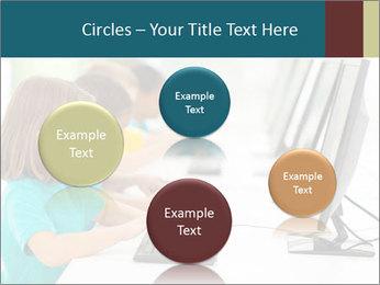 Group elementary school PowerPoint Templates - Slide 77