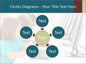 Group elementary school PowerPoint Templates - Slide 78