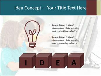 Group elementary school PowerPoint Templates - Slide 80