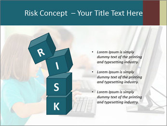 Group elementary school PowerPoint Templates - Slide 81