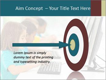 Group elementary school PowerPoint Templates - Slide 83