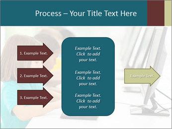 Group elementary school PowerPoint Templates - Slide 85