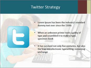 Group elementary school PowerPoint Templates - Slide 9