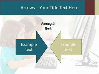Group elementary school PowerPoint Templates - Slide 90