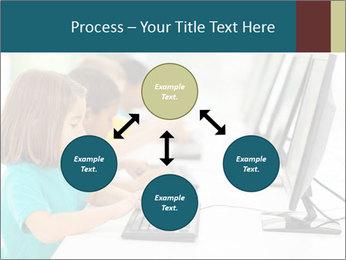 Group elementary school PowerPoint Templates - Slide 91