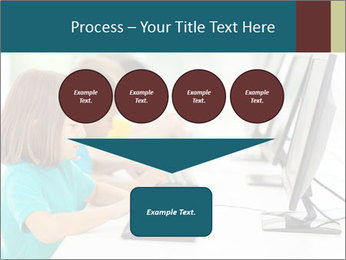 Group elementary school PowerPoint Templates - Slide 93