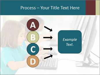 Group elementary school PowerPoint Templates - Slide 94