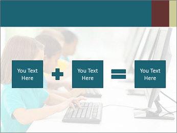 Group elementary school PowerPoint Templates - Slide 95