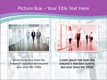 Business people rushing PowerPoint Template - Slide 18