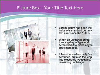 Business people rushing PowerPoint Template - Slide 20
