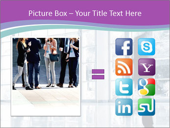 Business people rushing PowerPoint Templates - Slide 21