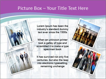 Business people rushing PowerPoint Template - Slide 24