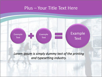 Business people rushing PowerPoint Template - Slide 75