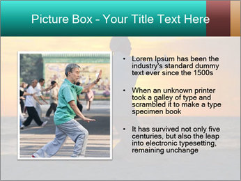 Chinese Elderly Woman PowerPoint Templates - Slide 13