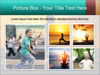 Chinese Elderly Woman PowerPoint Templates - Slide 19