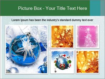 Cute Santa Claus on bicycle PowerPoint Template - Slide 19
