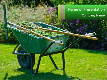 Clean garden PowerPoint Templates