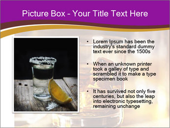 Cocktail glass PowerPoint Template - Slide 13