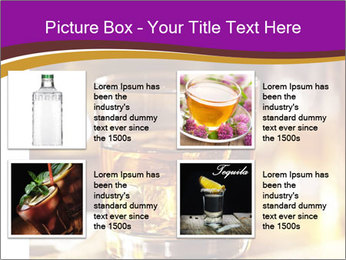 Cocktail glass PowerPoint Template - Slide 14