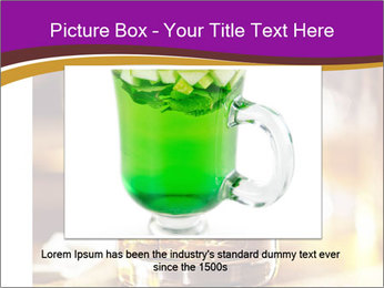 Cocktail glass PowerPoint Template - Slide 15