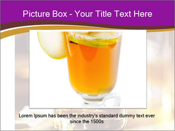Cocktail glass PowerPoint Template - Slide 16