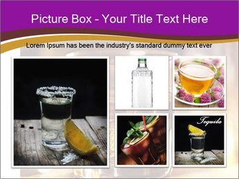 Cocktail glass PowerPoint Template - Slide 19