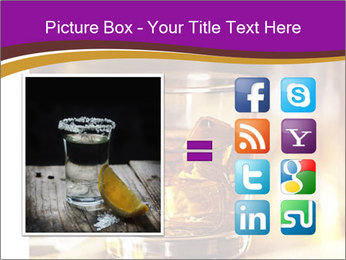 Cocktail glass PowerPoint Template - Slide 21