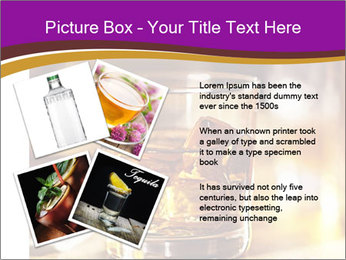 Cocktail glass PowerPoint Template - Slide 23