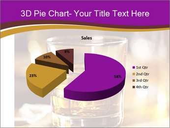 Cocktail glass PowerPoint Template - Slide 35