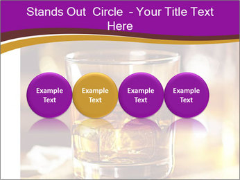 Cocktail glass PowerPoint Template - Slide 76