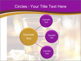Cocktail glass PowerPoint Template - Slide 79