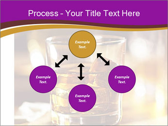 Cocktail glass PowerPoint Template - Slide 91