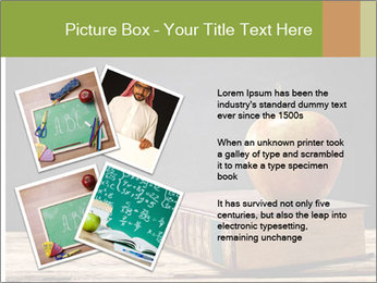 Apple and book PowerPoint Templates - Slide 23