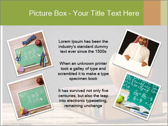 Apple and book PowerPoint Templates - Slide 24