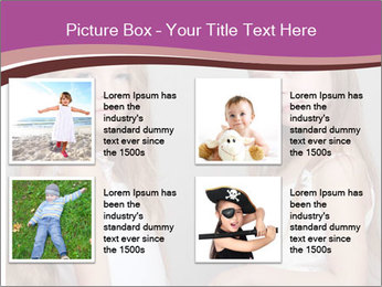 Little girls PowerPoint Template - Slide 14