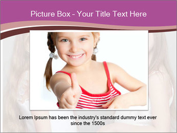 Little girls PowerPoint Template - Slide 15
