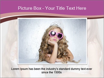 Little girls PowerPoint Template - Slide 16