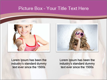 Little girls PowerPoint Template - Slide 18