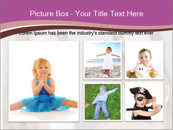 Little girls PowerPoint Template - Slide 19