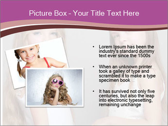 Little girls PowerPoint Template - Slide 20