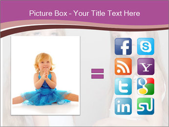 Little girls PowerPoint Template - Slide 21