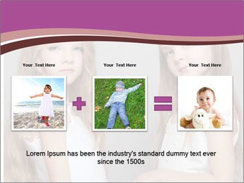 Little girls PowerPoint Template - Slide 22