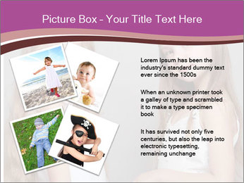 Little girls PowerPoint Template - Slide 23