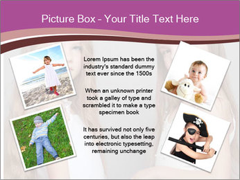 Little girls PowerPoint Template - Slide 24