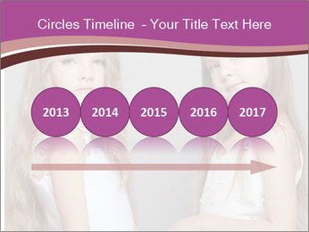 Little girls PowerPoint Template - Slide 29